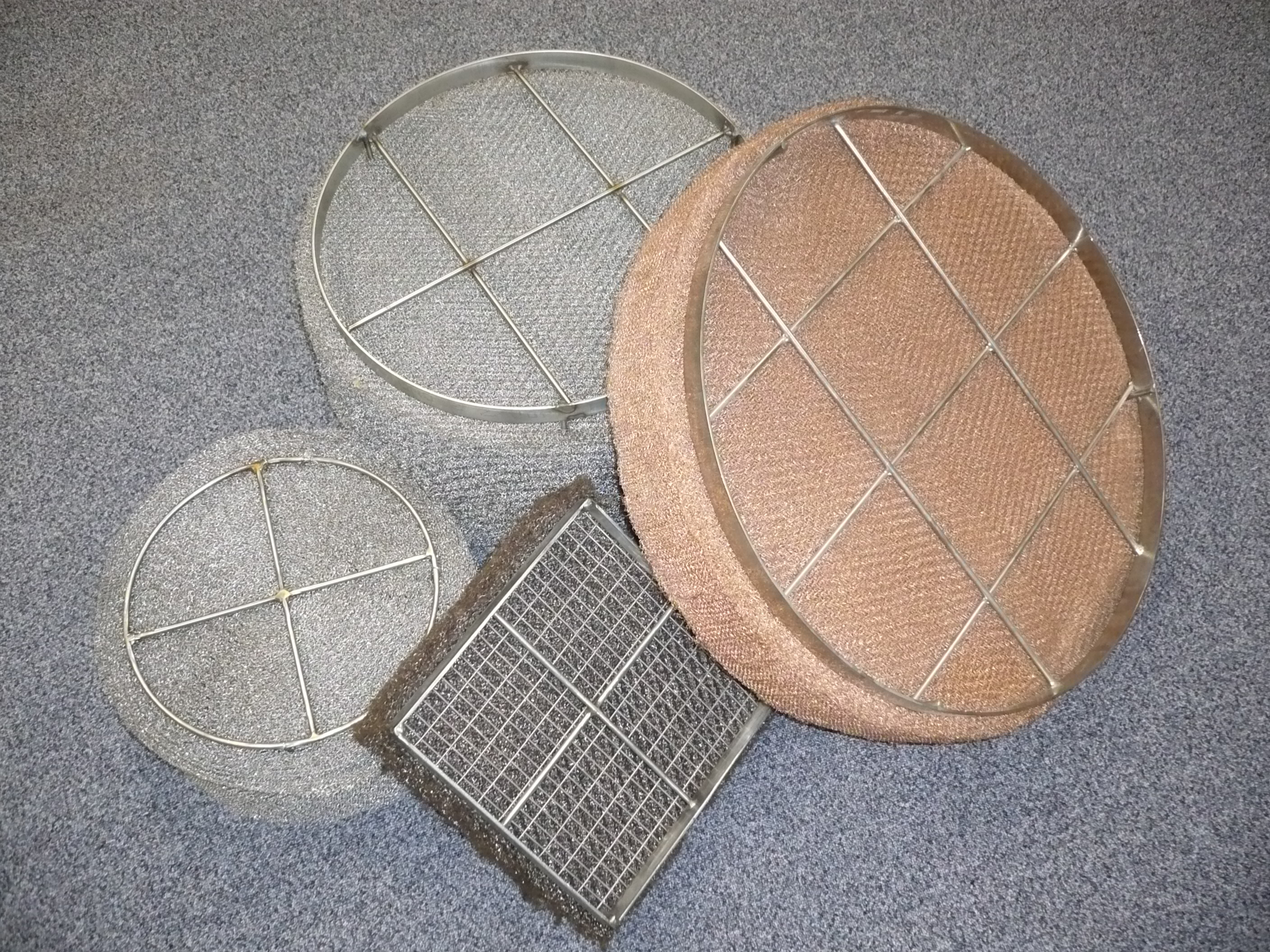 Demisters / Knitted Wire / Mesh Pad