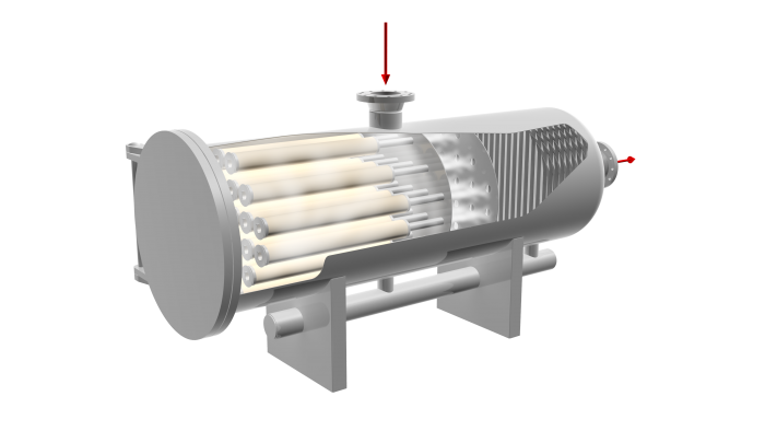 Horizontal Filter Separator