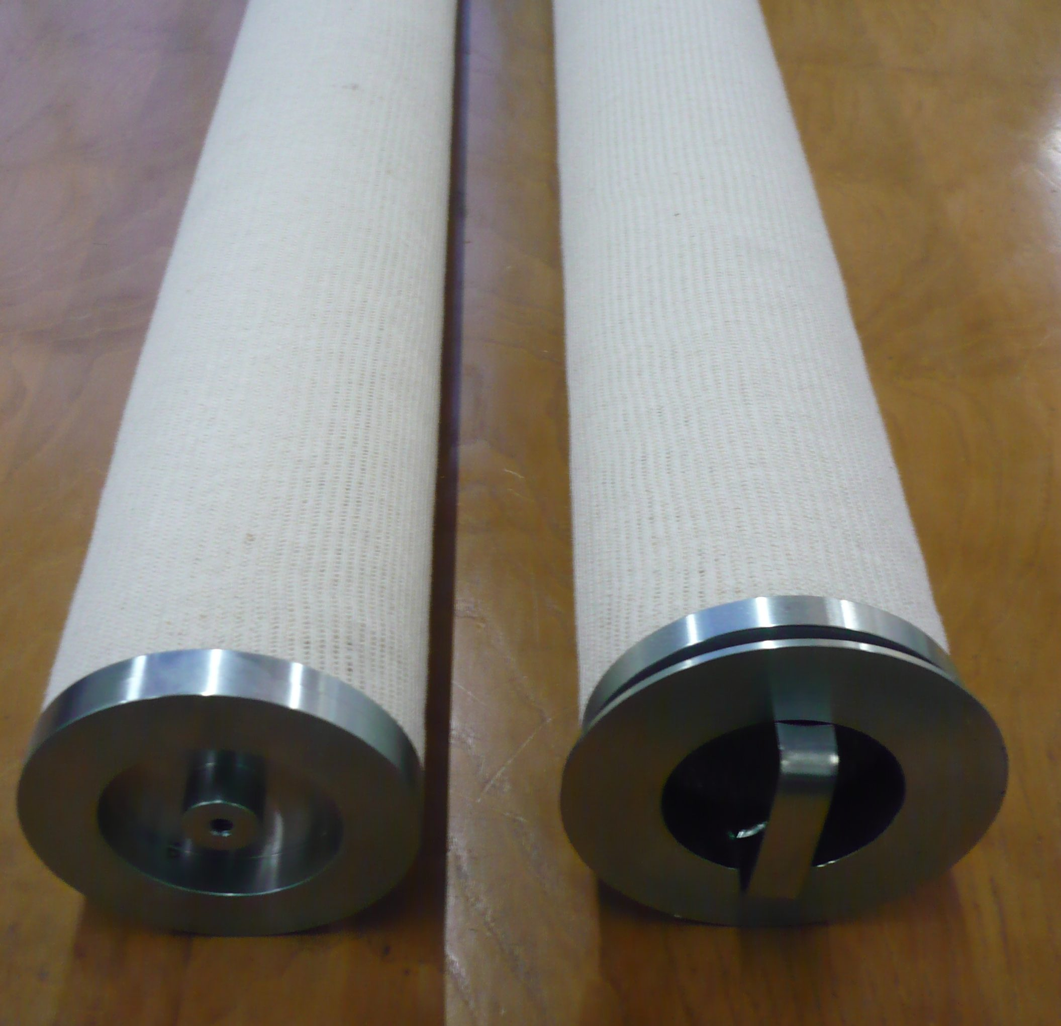 Cylindrical Coalescers