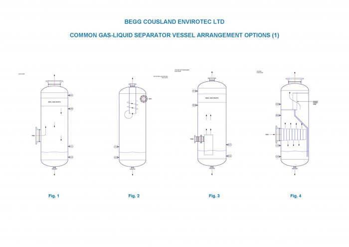 Merox O&G G-L VESSEL ARRANGEMENT OPTIONS