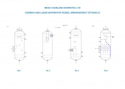 2 Phase Liquid-Liquid Separator Vessels with Coalescer Pack and Plate Pack Solids Removal Option