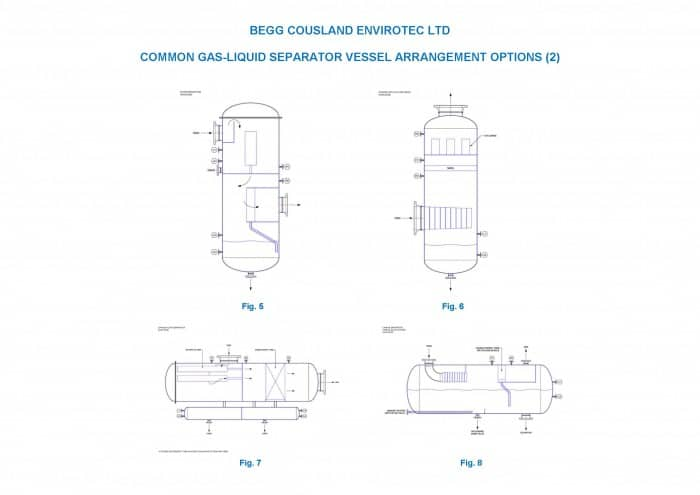 Naptha Hydrotreater O&G G-L VESSEL ARRANGEMENT OPTIONS 2