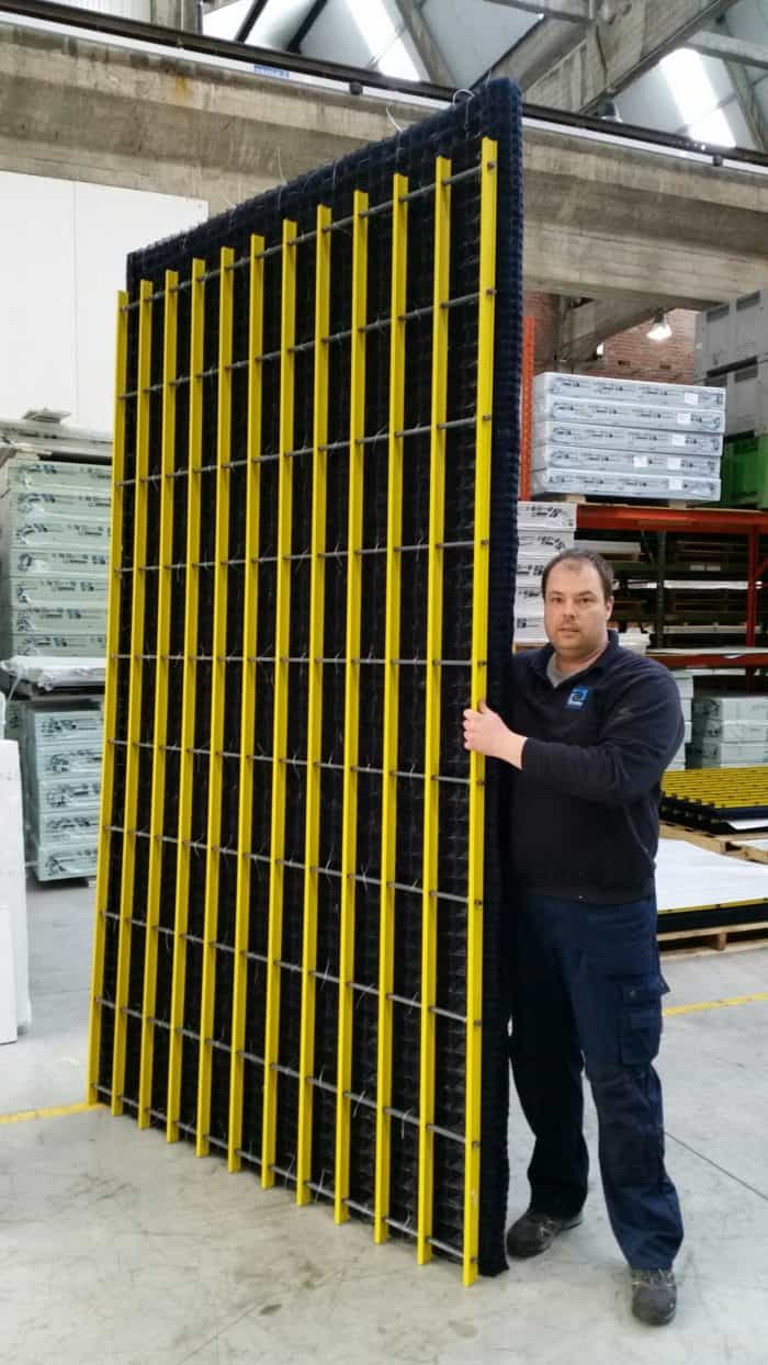 BlueFil-« PP panel with FRP Grid